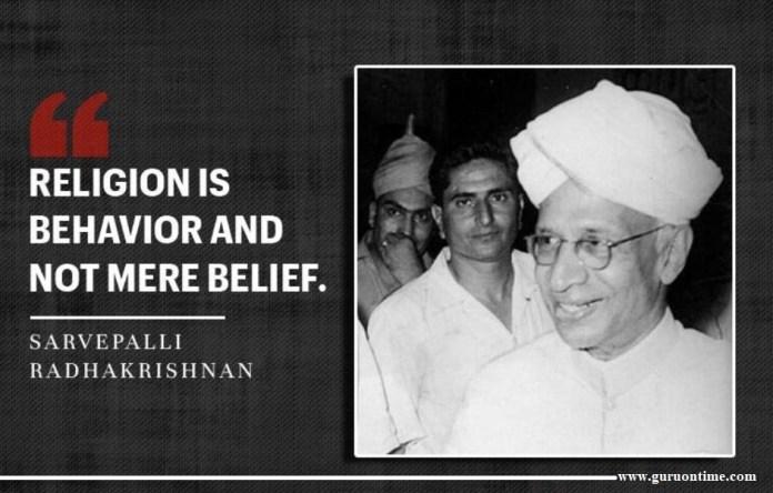 Inspiring Quotes by Sarvepalli Radhakrishnan