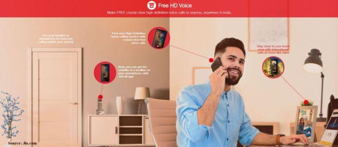 jio fiber plan Free HD Voice Calling in India