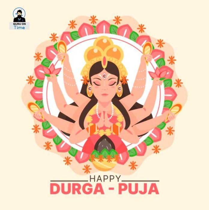 Wishing Durga Puja