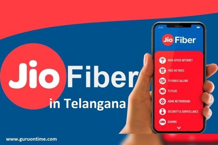 Jio Fiber Telangana
