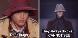 Model Shares What Goes Through His Mind During His Runway Walk And People Think It's Hilarious