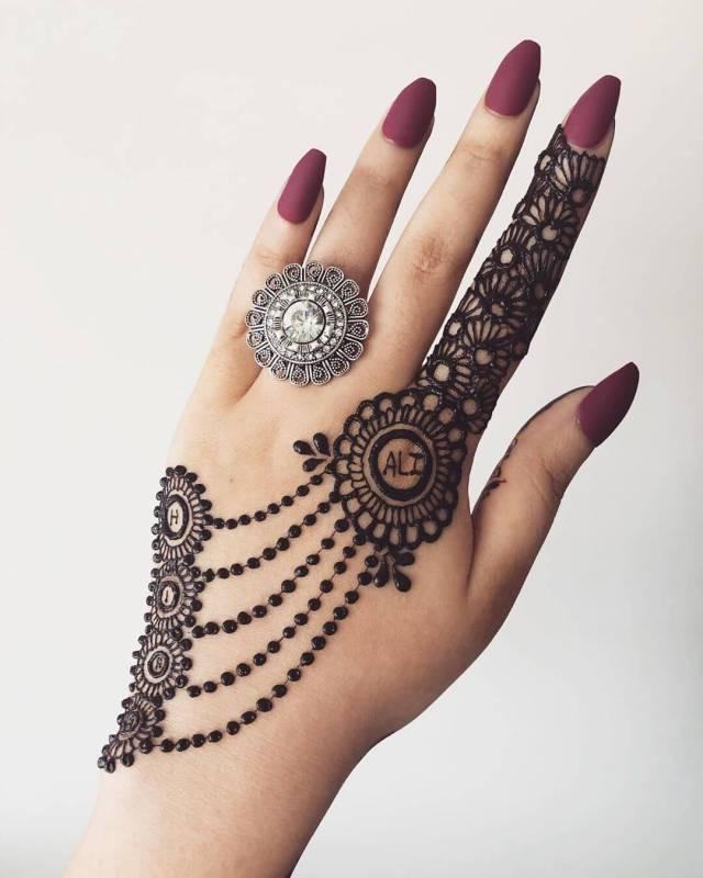 raksha bandhan mehndi designs