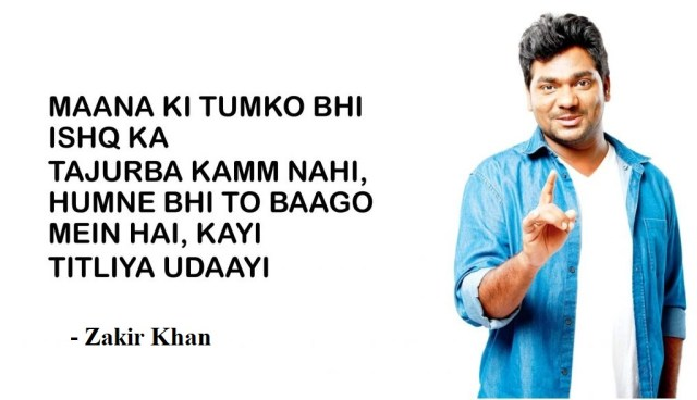 zakir khan poet