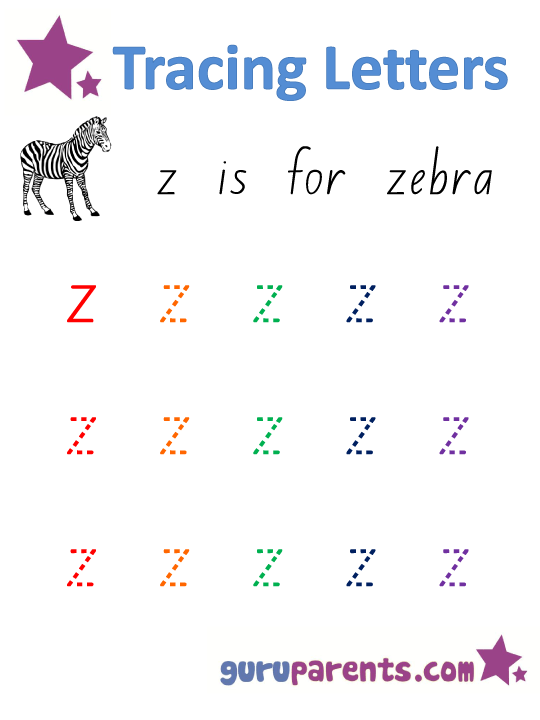 Small Letter A To Z : small, letter, Alphabet, Worksheets, Guruparents