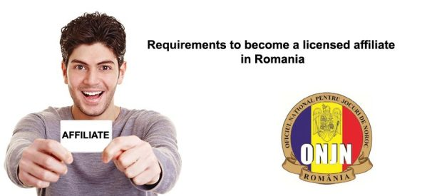 Class II Affiliate document requirements for Romanian License
