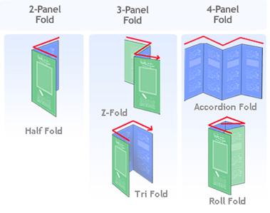 Folding Options Flyers Brochures