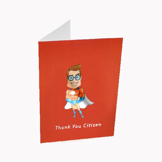 Spot UV Greeting Cards