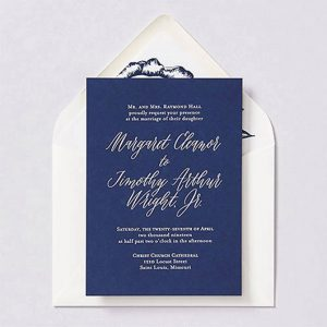 Velvet Wedding Invitations