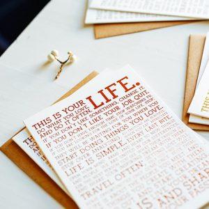 Linen Postcards