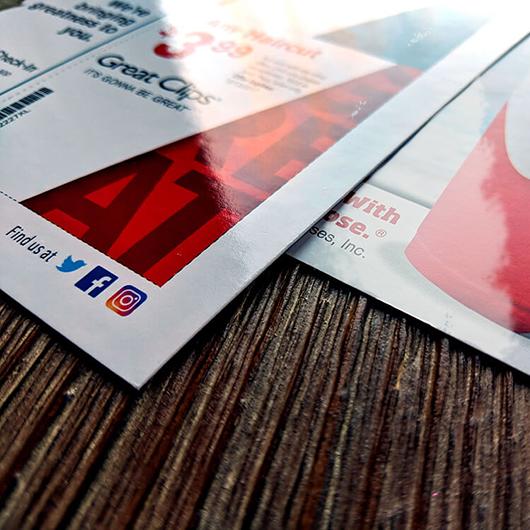 Laminated Postcard Printing