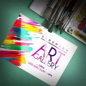 custom foil postcards