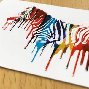 Raised Spot UV Postcard Printing