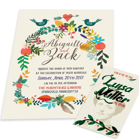 Eco-Friendly Postcards