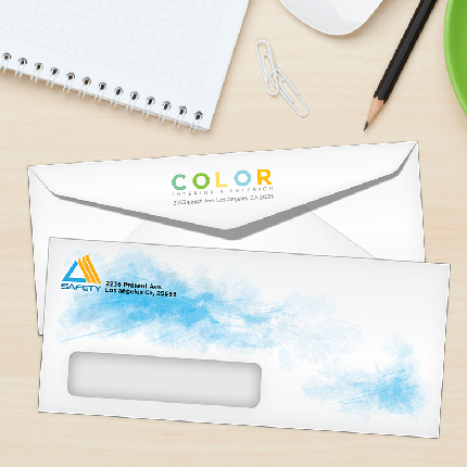 Custom Printed Linen Envelopes