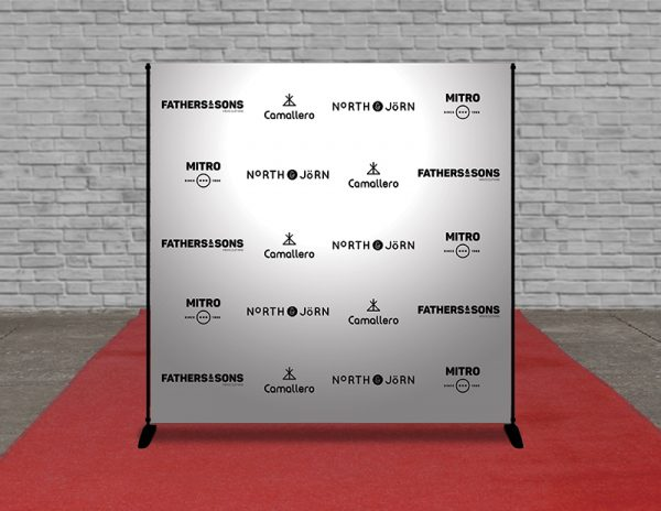 Step and repeat banners Los Angeles