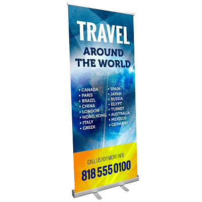 retractable banners los angeles image