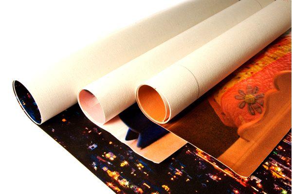 Custom Rolled Canvas Prints