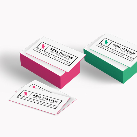 Painted Edge Business Card