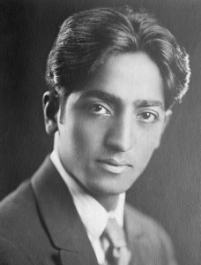 "J. Krishnamurti is one of the most influential speakers and spiritual teachers of the 20th century. Although he himself would never call himself a teacher - that would be against his whole teaching. He sounds more like a companion, that helps you to grow your own understanding in a friendly and respectful way. The very core of his teaching is the ultimate respect for one's individuality and freedom, so he is not giving you fixed ideas, but rather invites you to look at the subject, to see and understand for yourself. And the very understanding will bring the change. J. Krishnamurti was born in an orthodox brahmin family, his father was also a member of the Theosofical Society, an esoteric organization that was popular at the time in the western society. When he was 13, one of the leaders of the Society recognized him as a future World Teacher. The boy was taken away from his family and passed a complex process of education to prepare for his great future mission. A special Order is created to support the coming World Teacher, and Krishnamurti becomes its head. Initially the young man was convinced in his mission, however with time he started doubting the teachings of the Theosofical Society and rebelling against his strict mentors. In 1922 J. Krishnamurti moved to a cottage in California, which became his official residence for the rest of his life. Soon after arriving to California Krishnamurti went through a series of ""life-changing"" spiritual experiences, which initiated ""a process"", that continued on and off throughout his whole life. This experience Krishnamurti described as ""sacredness"", ""benediction"", ""immensity"" or simply ""the other"". After the experience Krishnamurti starts growing confidence, in his speeches he goes further ad further away from the teachings of Theosofical Society. In 1929 in front of thousands of members he dissolves the Order he was heading, marking the turning point in his life and teachings. He breaks up completely with the Theosophical Society and announces the new direction of his work. ""I maintain that truth is a pathless land, and you cannot approach it by any path whatsoever, by any religion, by any sect… Truth cannot be organized, nor should any organization be formed to lead people along a particular path... I do not want followers, and I mean this. The moment you follow someone you cease to follow Truth… I am concerning myself with only one essential thing: to set man free. I desire to free him from all cages, from all fears, and not to found religions, new sects, nor to establish new theories and new philosophies."" In the following years Krishnamurti continues speaking all over the world, a new publishing house is established to publish his works. He meets a number of scientists and religious leaders to discuss different fields of religion, education, psychology and physics. J. Krishnamurti lived a long life of 90 years and for 70 years he was speaking. According to his teaching he never formed any movement and never had followers, he denied the very concept of guru and disciple. The key concepts of his teaching are freedom and de-conditioning, breaking up with the past experience. All men's actions are rooted in the mind, and the mind is just an accumulation of thoughts, which are coming from the past experience, education and society. The ego, personality is just a series of memories. Every society or religion fills individual with its own fixed ideas, with time he becomes identified with them, and they become more important than the facts of life. Because of these ideas, concepts, philosophies there is so much separation and fight in the society and in the individual himself, since the ideas always contradict each other and have no connection to reality. Thus the real changes in society can only come from the transformation of the individual. One has to look deeply into the process of the mind, see and understand how it functions. The result is ""choice-less awareness"" - the silent and choiceness observation of what is. When this awareness is deep, the mind becomes silent, there is no unconscious or conscious movement of thoughts. The is real freedom - the freedom from the known. ""It is the state of a mind which says,"