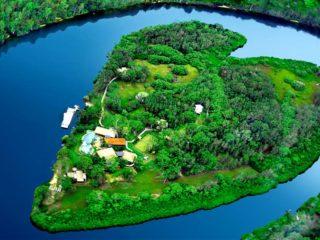 Остров Сердце в Австралии — Мейкпис