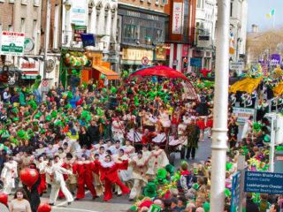 Дублин приглашает принять участие в празднованиях Дня Святого Патрика