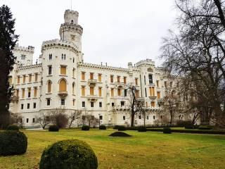 Чешский Крумлов и Замок Глубока-над-Влтавой