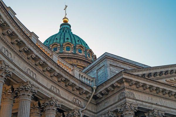 Санкт-Петербург в октябре