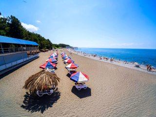 Отели Абхазии с песчаным пляжем