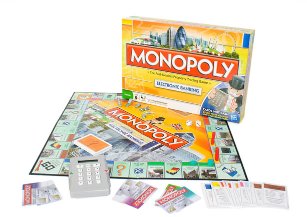 Monopoly Electronic Banking   GeekAlerts
