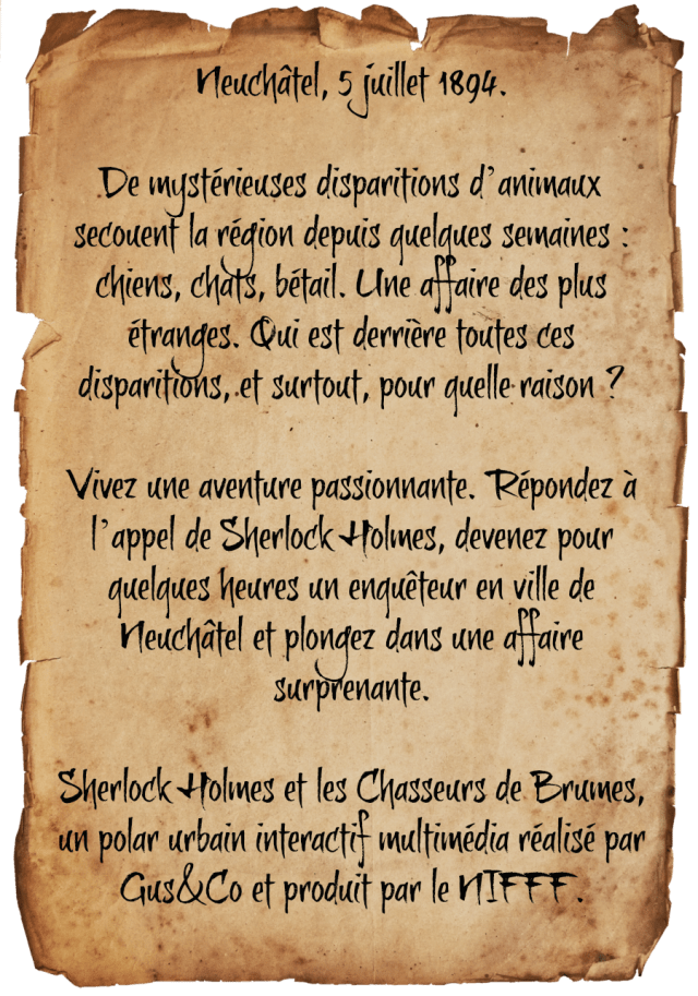 Chasseurs-intro