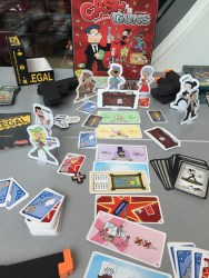Cash n' Guns, au design très moyen