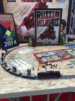 Russian Railroads en display
