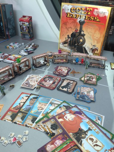 Colt Express et son train 3D