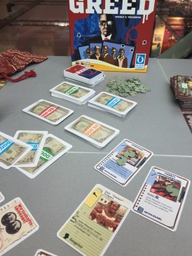 Greed, le nouveau Vaccarino. Design... comment dire...