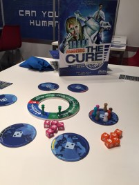 Pandemic The Cure. Pandémie version dés.