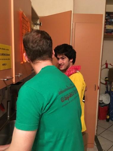Les hommes en cuisine