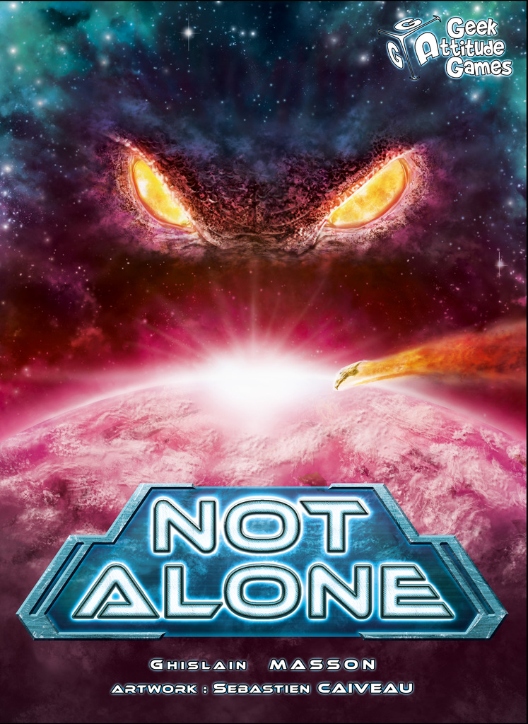 Critique de jeu: Not Alone. Dans l'espace, personne ne vous entend bluffer  - Gus & Co