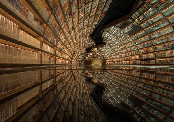 La libraire de Yangzhou Zhangshuge en Chine. Ca vous inspire de vous créer une ludothèque pareille?