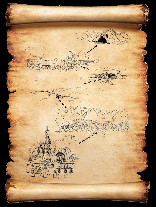 L'Écaille Magique, un scénario pour Donjons & Chenapans, le jeu de rôle gratuit dès 4 ans