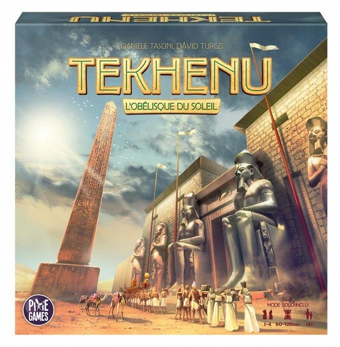 Tekhenu et The Artemis Project, 2 nouveaux jeux de société qui subliment les dés