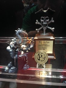 Great looking mini at the Privateer Press booth.