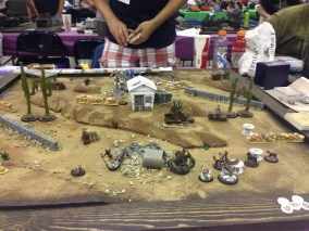 Game 2 of the Malifaux Tourney