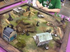 Game 3 of the Malifaux Tourney; the noodles and beer did the trick and this game went much better.