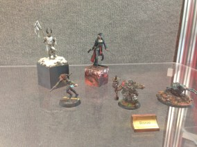 Models from the painting competition