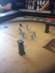 Some gladiatorial combat in honor of the holiday.