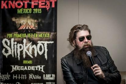 Knotfest Press Conference © Gus Morainslie