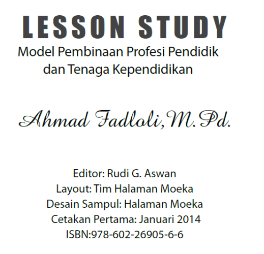 Buku Lesson Study
