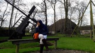 Lokasi museum di dalam Desa Giethoorn