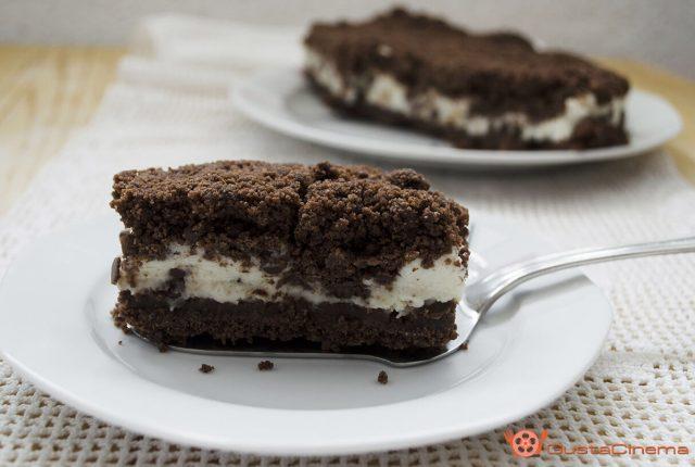 Sbriciolata senza cottura ricotta e cioccolato