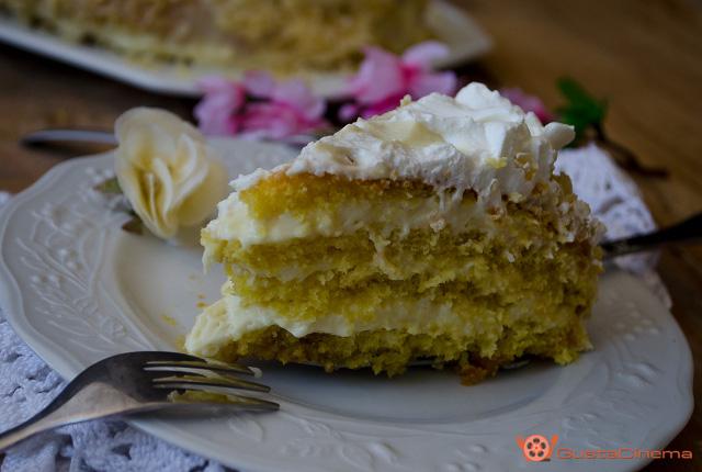 Torta chantilly - Ricetta festa della mamma